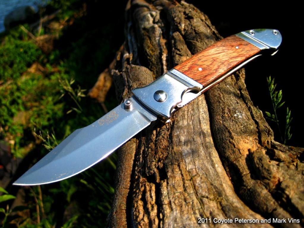 Jak zrobić samemu tani nóż myśliwski w jeden dzień